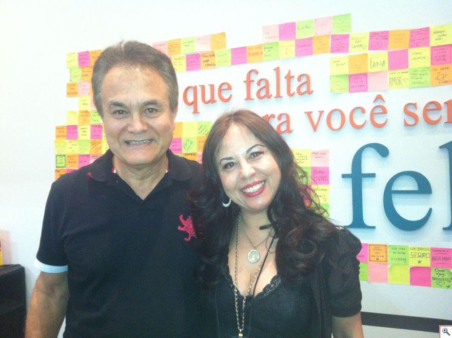 Roberto Shinyashiki e Celine Imaguire na Bienal do Livro em São Paulo!